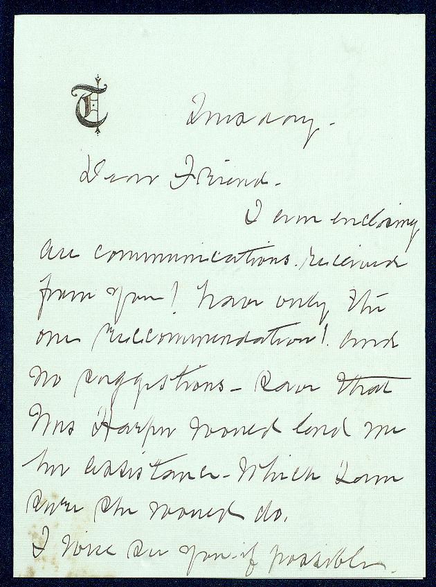 Correspondence: 1914 October - Still Image #1