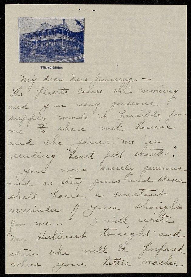 Correspondence: 1914 November - Still Image #1