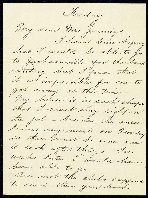 Correspondence: 1915 February - Still Image #1