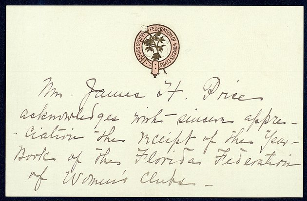 Correspondence: 1915 March - Image 1