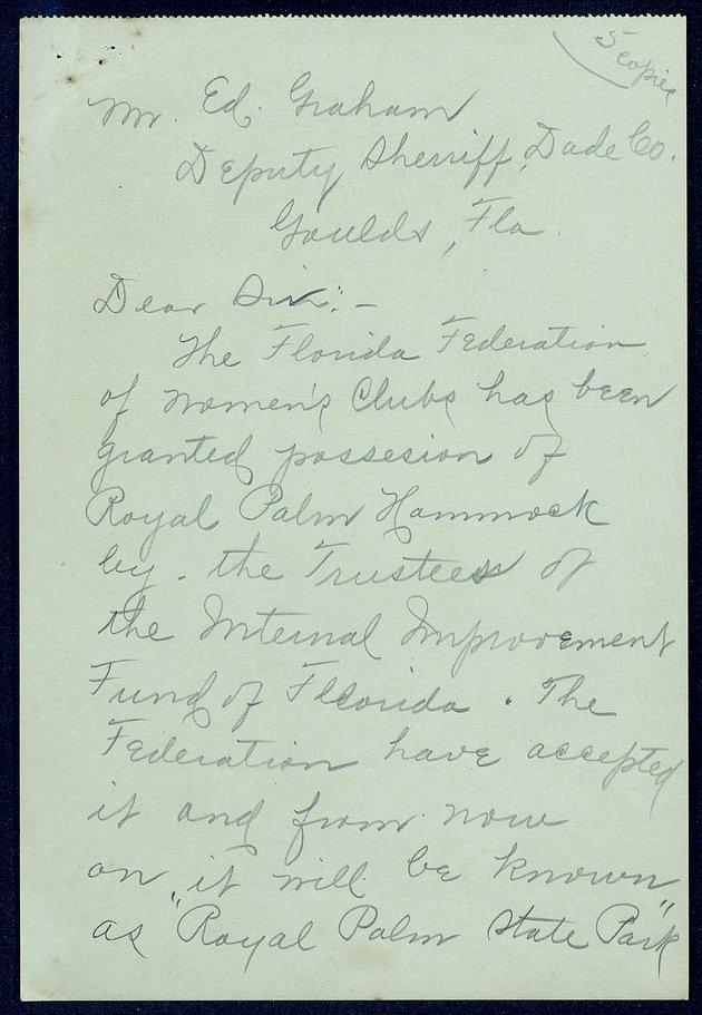Correspondence: 1915 April - Image 1