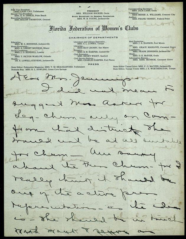 Correspondence: 1915 May - Image 1