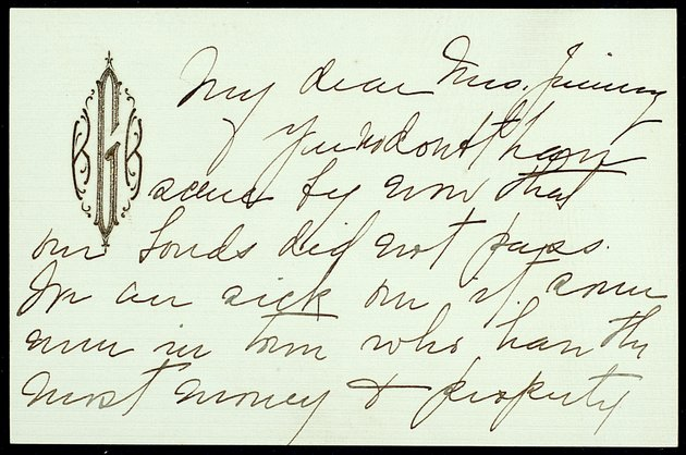 Correspondence: 1915 September - Image 1
