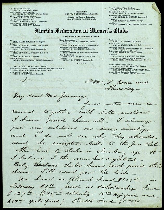 Correspondence: 1915 October - Image 1
