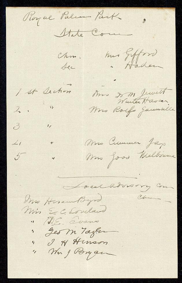 Correspondence: 1916 February - Still Image #1