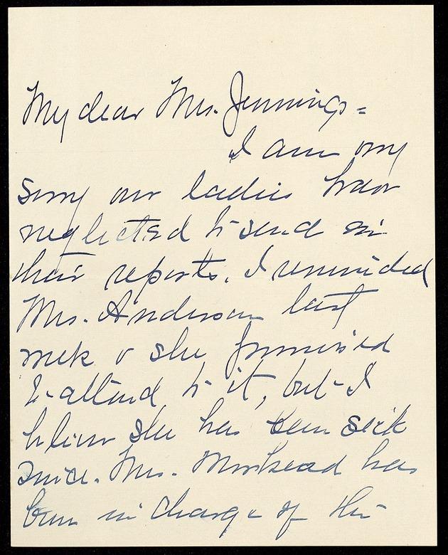 Correspondence: 1916 March - Image 1