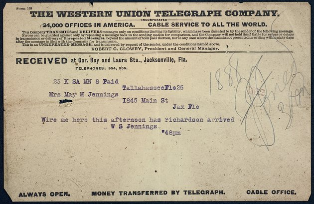 Personal Correspondence: 1909-1910 - Page 1