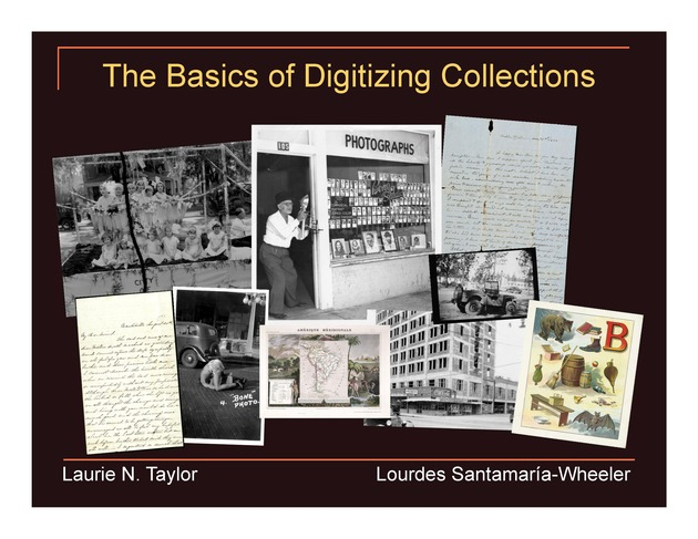 Basics of Digitizing Collections (presentation) - Page 1