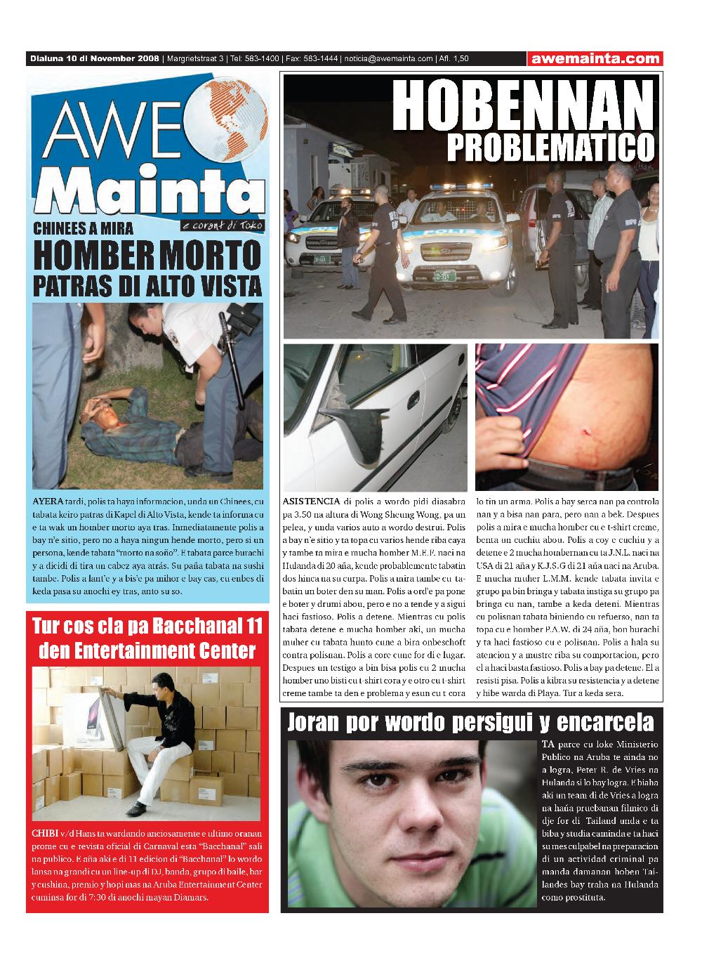 Awe Mainta - page 1