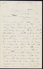 Duren, Charles M. to his Father, March 26, 1864 - Jacksonville, Fla.  (1 sheet, 4 leaves)