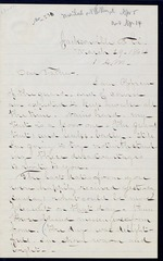 Duren, Charles M. to his Father, March 29, 1864 - Jacksonville, Fla.  (2 sheets, 7 leaves)
