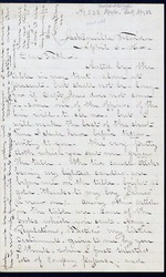 Duren, Charles M. to his Father, April 6, 1864- Jacksonville, Fla. (1 sheet, 4 leaves)