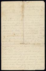 Maxwell, David E. to his Father - Bragg Hospital, Ward 5, Newnan, Ga.