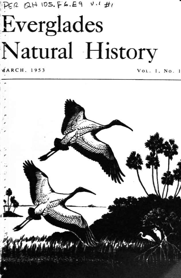 Everglades Natural History Journal - Front Cover 1