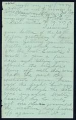 Bailey, Cosmo O. to his Mother - Camp Near Petersburg, Va. - Feb. 10, 1865