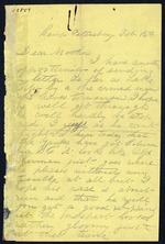 Bailey, Cosmo O. to his Mother - Camp Petersburg, Va. - Feb. 16, 1865