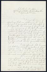 Snell, A.T. to Charles Steedman - U.S. Hale off Mayport
