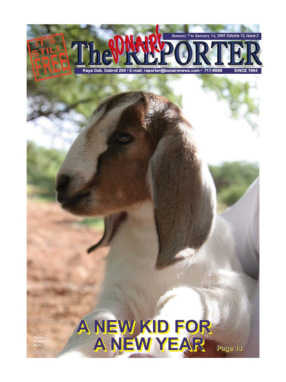Bonaire reporter - Page 1