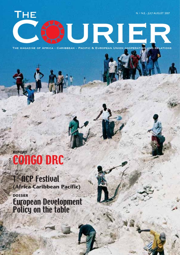 Courier (English) - Cover
