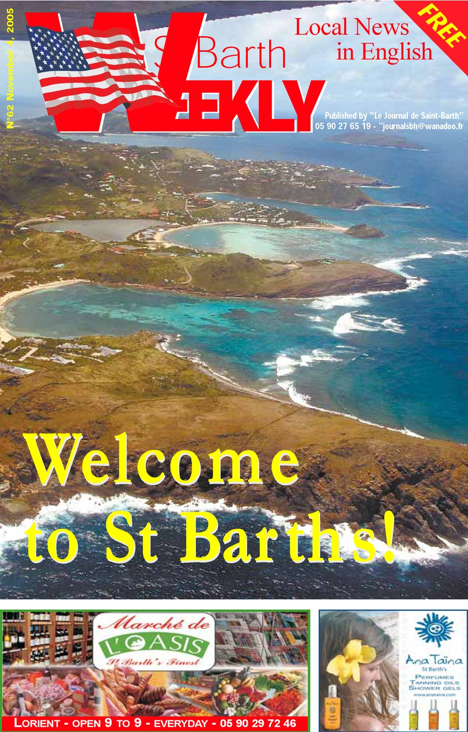 St Barth weekly - Page 1