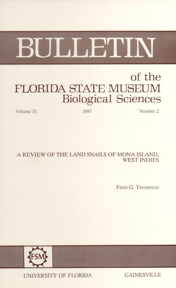A Review of the land snails of Mona Island, West Indies - Page 67