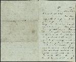 Mickler, Jacob E. to his Wife Sallie, November 5, 1860- Fernandina, Fla. (1 sheet, 3 leaves)