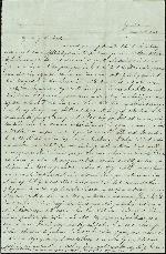 Mickler, Sallie to her Husband Jacob E., June 20, 1862- Taylor Farm, Suwannee Co., Fla. (1 sheet, 2 leaves)