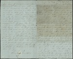 Mickler, Jacob E. to his Wife Sallie, July 19, 1862- Mobile, Ala. (1 sheet, 4 leaves)
