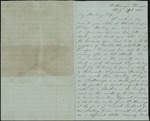 Mickler, Jacob E. to his Wife Sallie, July 29, 1862- Chattanooga, Tenn. (1 sheet, 3 leaves)