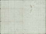 Mickler, Jacob E. to his Wife Sallie, April 27, 1864- Trout Creek, Fla.  (1 sheet, 4 leaves)