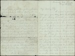 Mickler, Jacob E. to his Wife Sallie, May 5, 1864- Broward's Neck, Fla. (1 sheet, 4 leaves)