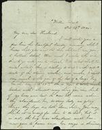 Mickler, Sallie to her Husband John Fletcher White, October 27, 1866- Batten Island (1 sheet, 1 leaf)