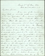 Chamberlain, Valentine to his Friends, October 10, 1862- Hilton Head, S.C. (3 sheets, 12 leaves)