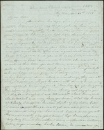 Hart, Catherine to Sister and Mother, April 16, 1848- Key West, Fla. (1 sheet, 4 leaves)