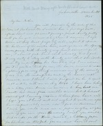 Hart, Catherine to Father, December 25, 1848- Jacksonville, Fla. (1 sheet, 3 leaves)