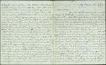 Hart, Catherine to Sister Lottie, November 29, [18]52- Key West, Fla. (3 sheets, 12 leaves)