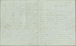 Hart, Catherine to Sister Lottie, February 8, 1860- Tampa, Fla. (2 sheets, 8 leaves)