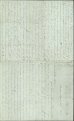 Hart, Catherine to Sister Lottie, April 22, 1860- Tampa, Fla. (1 sheet, 4 leaves)
