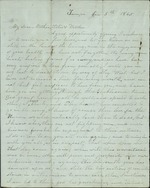Hart, Catherine to Mother, Sisters, and Brothers, January 5, 1865- Tampa, Fla. (1 sheet, 2 leaves)