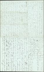 Hart, Catherine to Sister Lottie, July 3rd, 1867- Jacksonville, Fla. (1 sheet, 4 leaves)