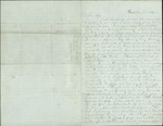 "Hart, Ossian to Wife Catherine, June 14th, [18]63- ""Plantation,"" Fla.  (1 sheet, 3 leaves)"