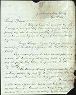 Murphy, Corp. P. to Thomas Kelley, April 4, 1864 following Olustee - Jacksonville, Fla. (1 sheet, 3 leaves)