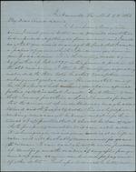 L'Engle, E.W. to his Aunt Leonis, Postwar, March 5, 1866- Jacksonville, Fla. (1 sheet, 4 leaves)