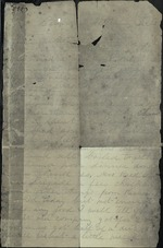 Bailey, Casermo O. to his Mother, December 25th, 1864 - Camp near Petersburg (1 sheet, 2 leaves)