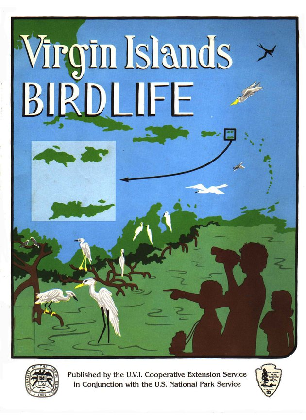 Virgin Islands birdlife - Front Cover