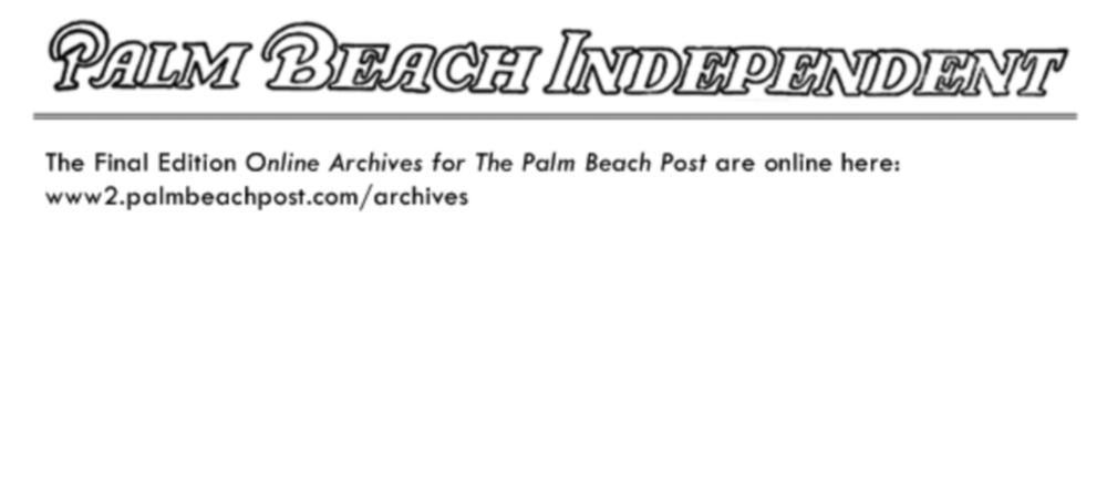 Palm Beach independent