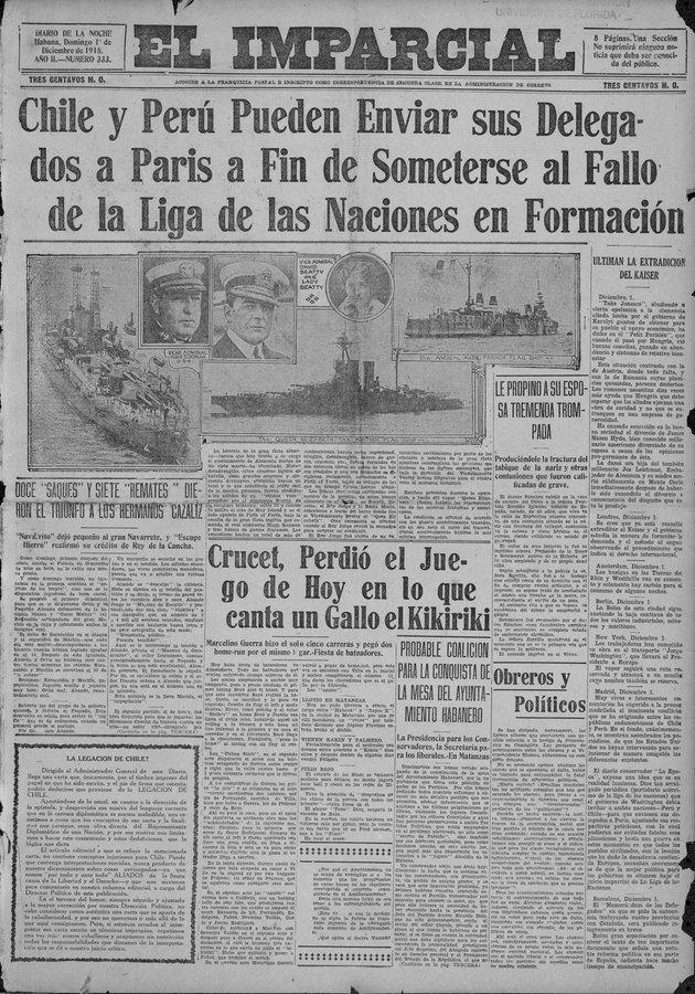 El Imparcial (Havana, Cuba) - Page 1