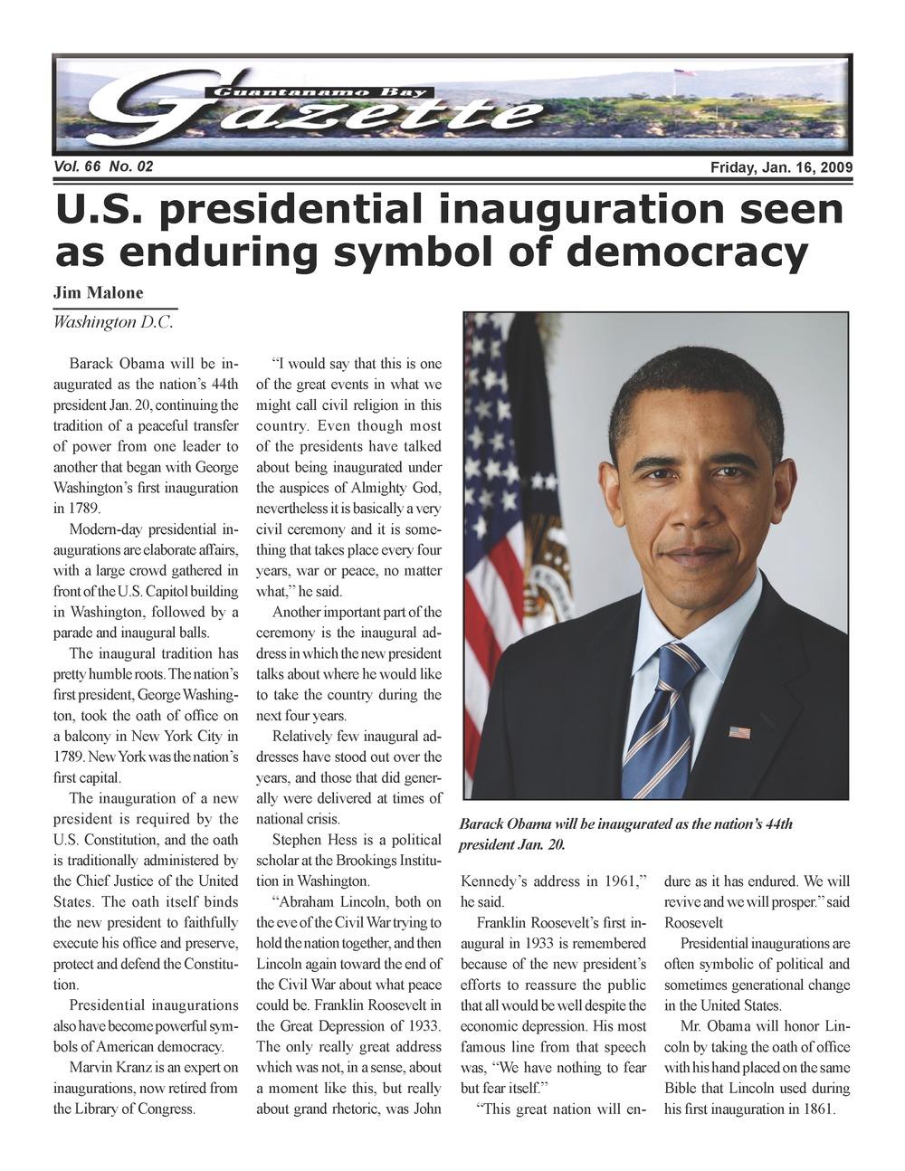 Guantánamo Bay gazette - Page 1