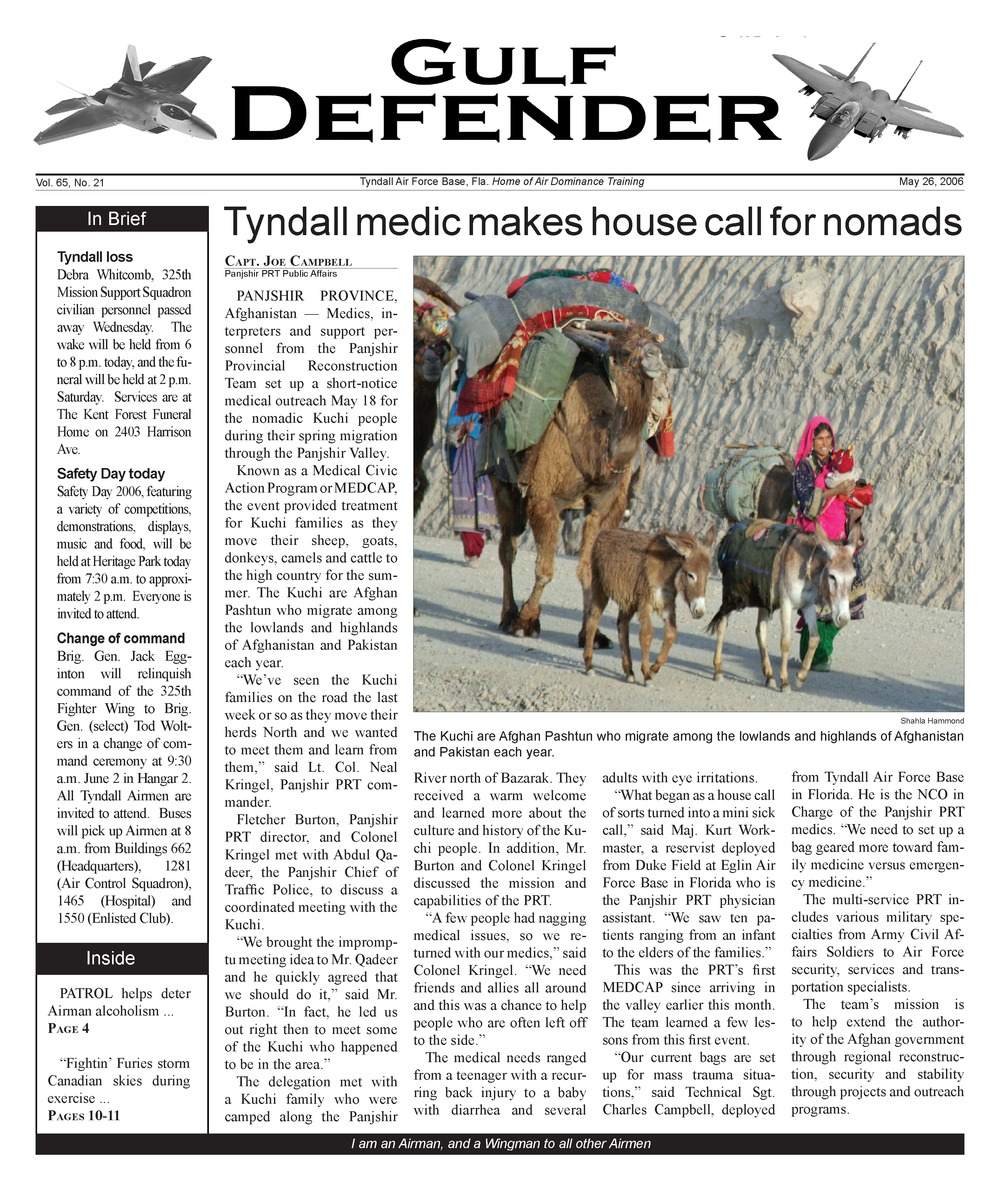 The Gulf defender - Page 1