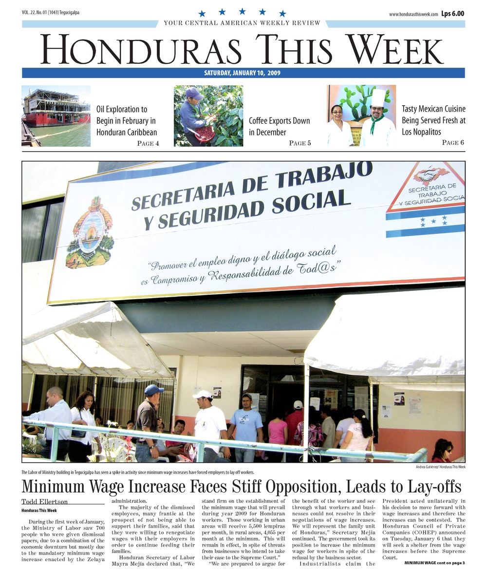 Honduras this week - Page 1